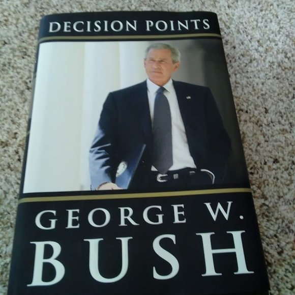 Other - Hard Cover Book - George W Bush - Decision Points